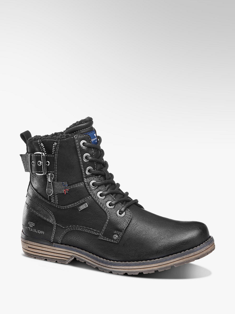 a841747690 Šněrovací obuv s membránou TEX značky Tom Tailor v barvě černá -  deichmann.com