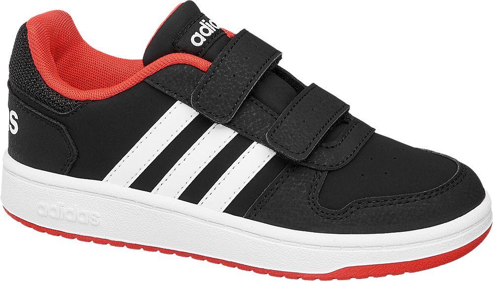 Kinder deichmann Sneaker HOOPS 2.0 schwarz | 4054613266076