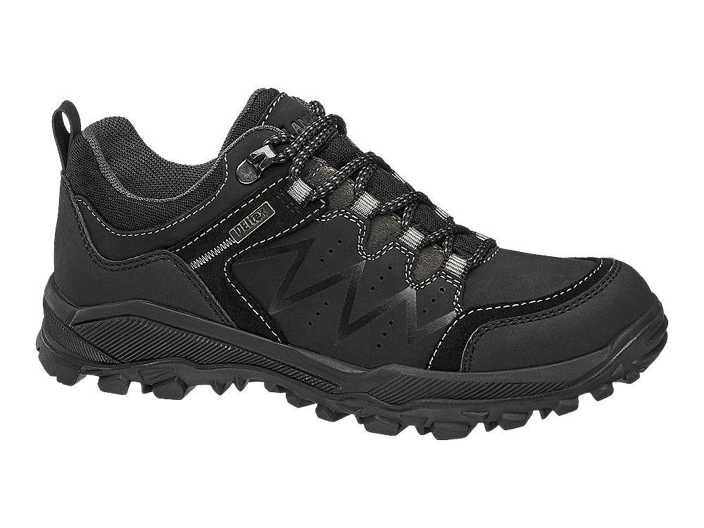 Damen deichmann Trekking Schuh schwarz |