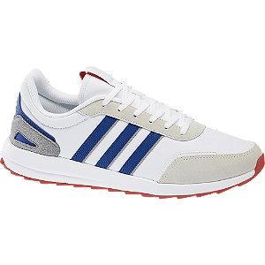 Levně Bílo-modré tenisky Adidas Retro Run X