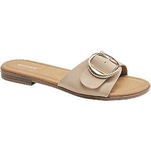 Levně Béžové pantofle Graceland