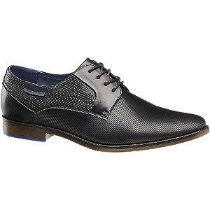 Levně Černá společenská obuv Bottesini