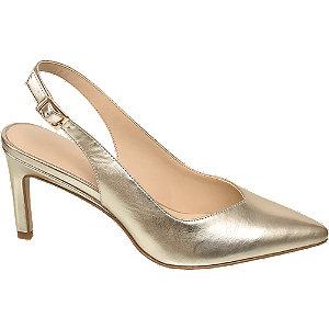 Gouden pump Graceland maat 38
