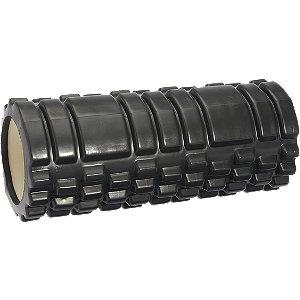 Zwarte foam roller