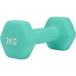 Turquoise dumbbell 2 kg