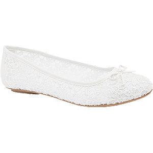 Witte ballerina bloemen