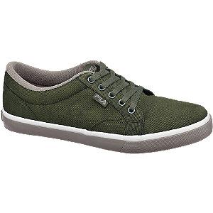Groene sneaker canvas