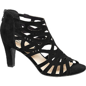 sude sandalettes