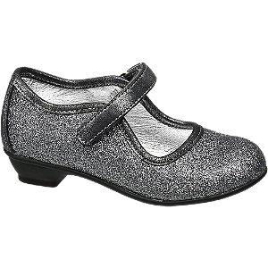 Zilveren ballerina glitters
