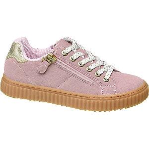 Roze sneakers sierrits