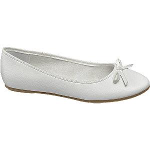 Witte ballerina strik