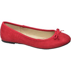 Rode ballerina strikje Graceland maat 39