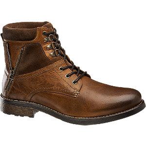 Bruine boot vetersluiting