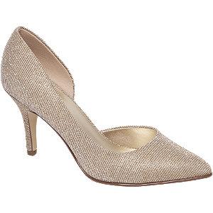 Gouden glitter pump Graceland maat 39