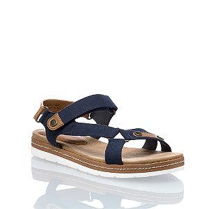 Image of Bench Damen Flache Sandalette Navyblau