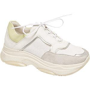 Lichtgrijze chunky dad sneaker Graceland maat 40