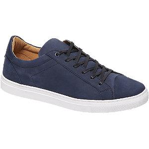 Blauwe nubuck sneaker vetersluiting AM shoe maat 45