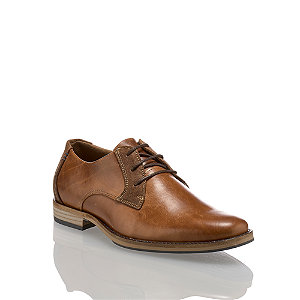 Image of AM Shoe Herren Businessschuh Cognac
