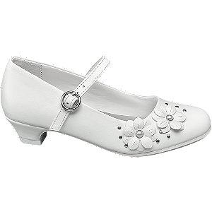 Witte ballerina bloemetjes Cupcake Couture