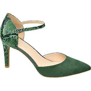 Groene pump slangenprint
