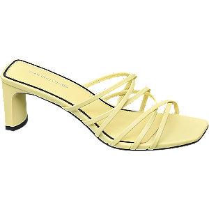 Zachtgele sandalette