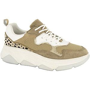 Bruine chunky sneaker cheetaprint