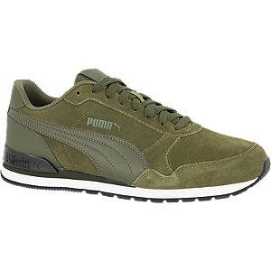 Puma ST Runner V2 SD suéde sneakers kaki/grijsblauw online kopen