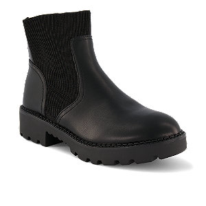 Image of Buffalo Mika Damen Chelsea Boot Schwarz