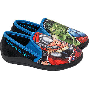 Deichmann Shoes Marvel Avengers boy Junior Boys Hulk Slipper Boots green New