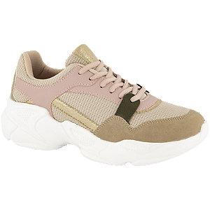 Roze chunky sneaker metallic