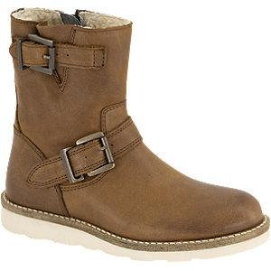 Bruine leren boot Victory maat 31