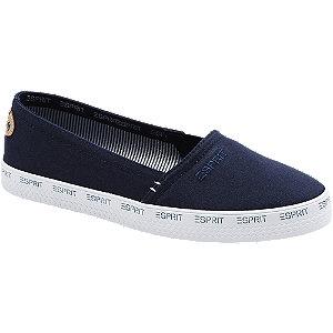 Blauwe loafer Esprit