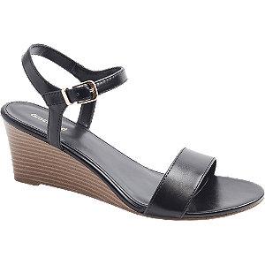 Graceland Zwarte sandalette maat 38 online kopen