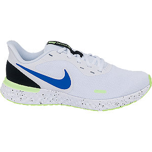 Mens Nike Revolution 5 White Lace-up Trainers