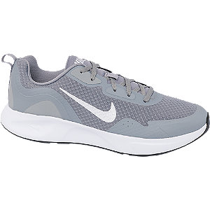 Mens Nike Wearallday Grey Lace-up Trainers