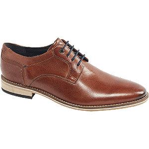 Bruine leren veterschoen AM shoe