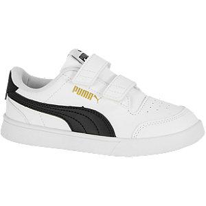 Puma shuffle sneakers wit/zwart kinderen online kopen