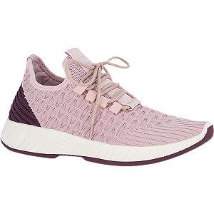 Roze sneaker knitted Venice
