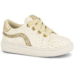 Witte sneaker stippen Cupcake Couture