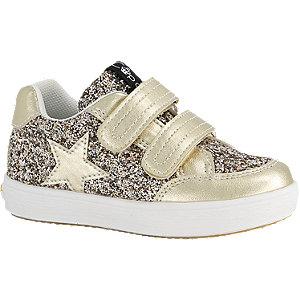 Gouden sneaker klittenband Cupcake Couture