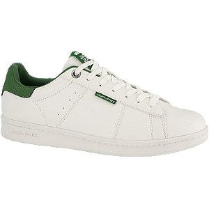 Jack & jones Sneakers met dikke zool en groene details in wit online kopen