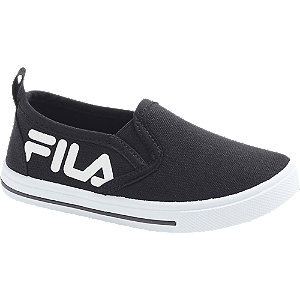 Zwarte slip-on FILA