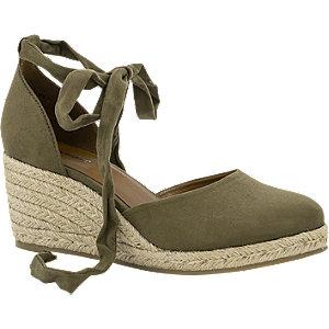 Graceland Groene sandalette maat 38 online kopen
