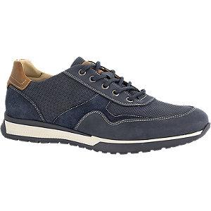 Blauwe leren sneaker Gallus