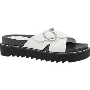 Witte slipper lak