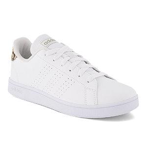 Image of adidas Advantage Mädchen Sneaker Weiss