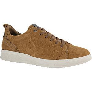 Bruine leren sneaker Gallus