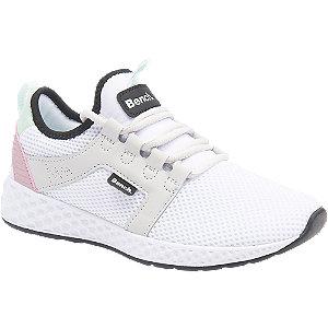 Witte sneaker memory foam Bench