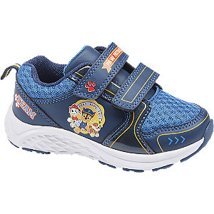 Blauwe sneaker klittenband PAW Patrol