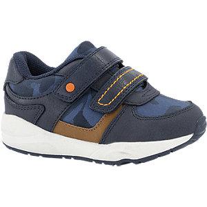 Donkerblauwe sneaker klittenband Bobbi-Shoes